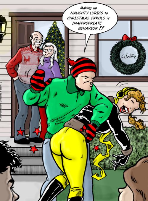 wr christmas caroling