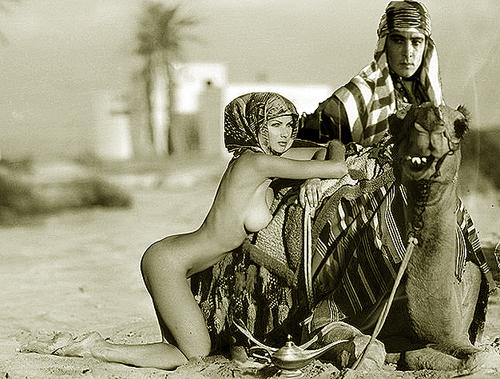 sheik and the modern girl