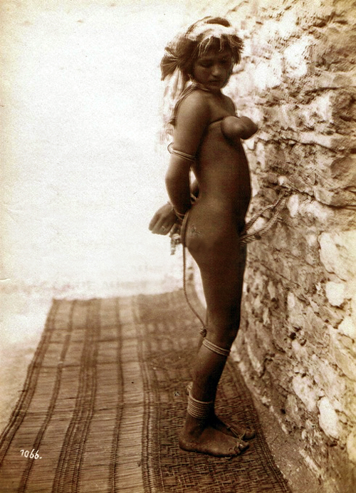 vin Lehnert_and_Landrock_-_Fatma_in_bondage_Tunisia_1904