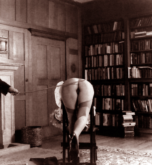 1 dastard caned in library