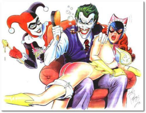 wr1 joker-spanks-batwoman
