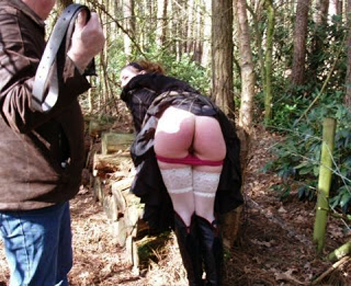 public-spanking-spanked-outdoors