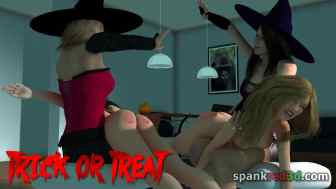 00C spankred3D Halloween_spank