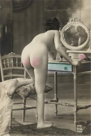 vin spanking-vintage-photo-colorisee