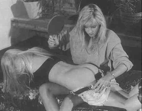vin girl-getting-spanked-vintage-photo-b