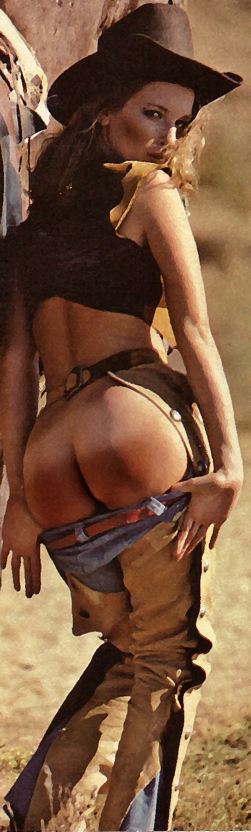 cowgirl-spanked